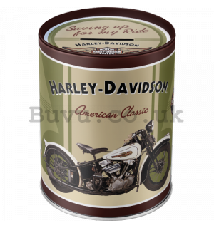 Money box - Harley-Davidson Knucklehead