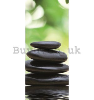 Photo Wallpaper Self-adhesive: Zen (2) - 221x91 cm