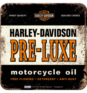 Set of coasters 2 - Harley-Davidson PRE-LUXE