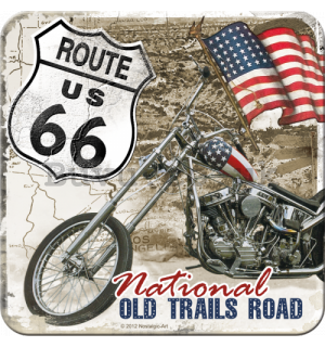 Set of coasters 2 - Route 66 (Old Trails Road)