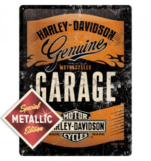 Metal sign - Harley-Davidson Garage (Special Edition)