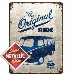 Metal sign - VW The Original Ride (Special Edition)