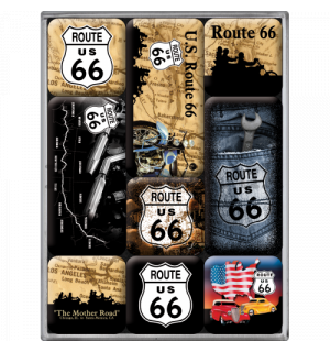 Set of magnets – Route 66