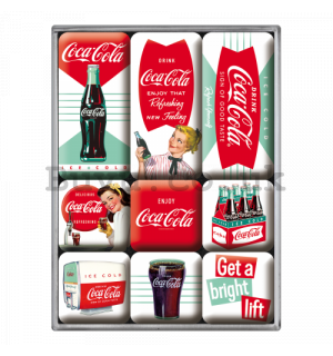 Set of magnets – Coca-Cola (Ice Cold)