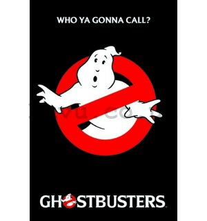 Poster - Ghostbusters Logo