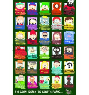 Poster - South Park (characters)