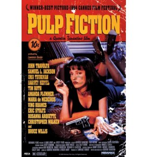 Poster - Pulp Fiction (Cover)