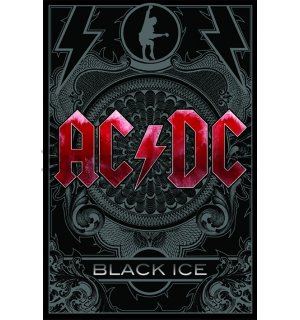 Poster - ACDC black ice