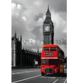 Poster - London Red Bus (1)