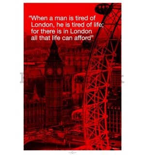 Poster - London (quote)