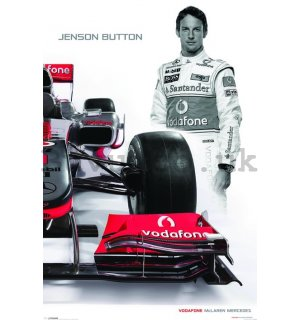 Poster - McLaren Double Button