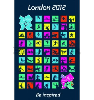 Poster - London, Olympics 2012 (2)