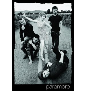 Poster - Paramore (B&W)