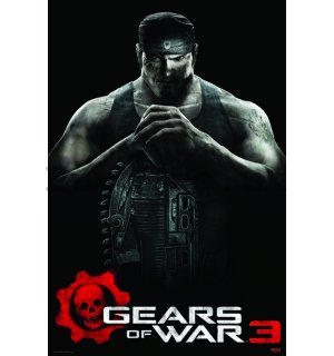 Poster - Gears of War 3 (Marcus)