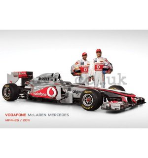 Poster - Vodafone McLaren Mercedes MP4-26 (2)