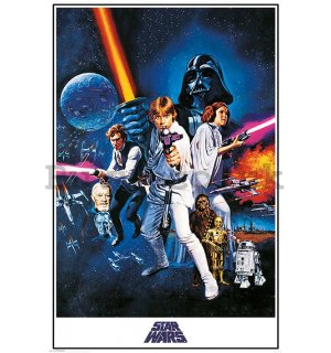Poster - Star Wars IV (A New Hope)