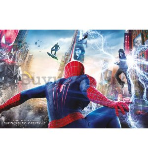 Poster - Amazing Spiderman 2 (Battle)