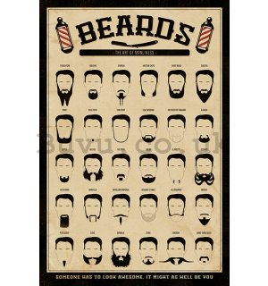 Poster - The Beard (The Art of Manliness)