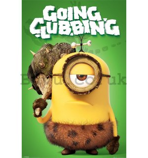 Poster - Minions (GOING CLUBBING)
