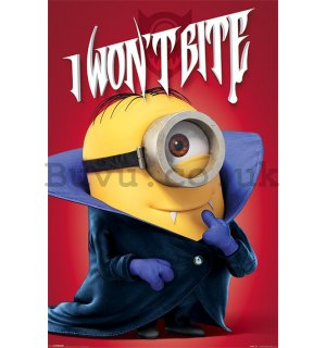 Poster - Minions (I WILL NOT BITE)