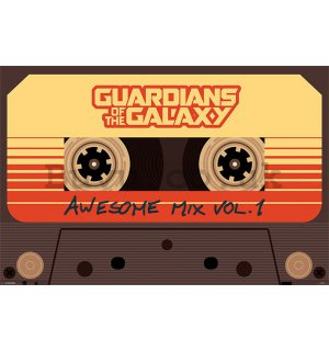 Poster - The Guardians of the Galaxy (Awesome Mix Vol.1)