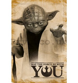 Poster - Star Wars (May the Force Be With You)