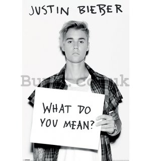 Poster - Justin Bieber (What Do You Mean?)