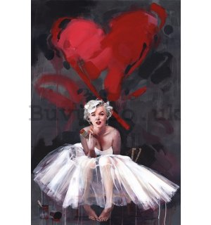 Poster - Marilyn, James Paterson