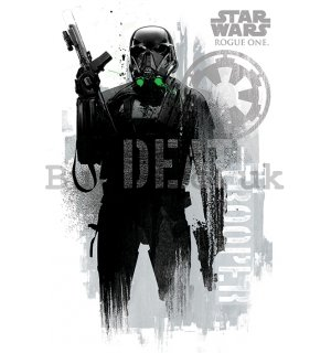 Poster - Star Wars Rogue One (Death Trooper)