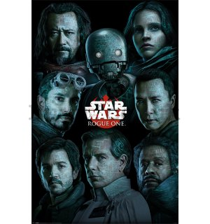 Poster - Star Wars Rogue One (Characters)