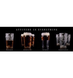 Poster - Beer attitude