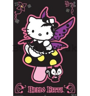Poster - Hello Kitty gothic
