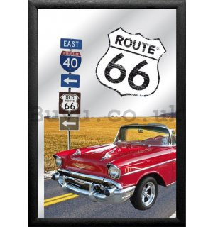 Mirror - Route 66 (1957 Chevrolet Belair)