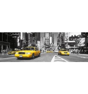 Poster - Yellow Taxi, Time Square (3)