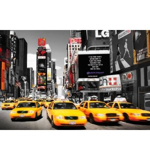 Poster - Yellow Taxi, Time Square (4)