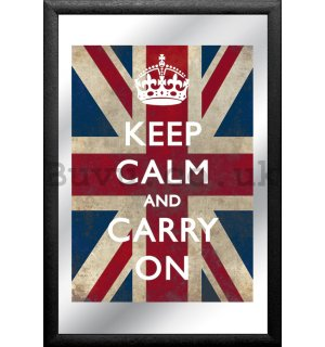Mirror - Keep Calm and Carry On