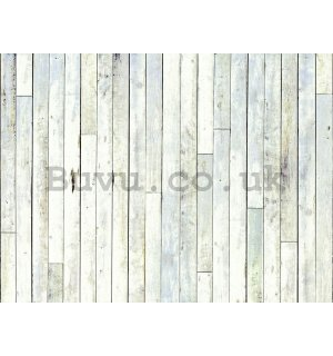 Wall Mural: Wooden partitions (3) - 232x315 cm