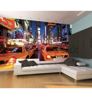 Wall Mural: New York taxi (2) - 232x315 cm