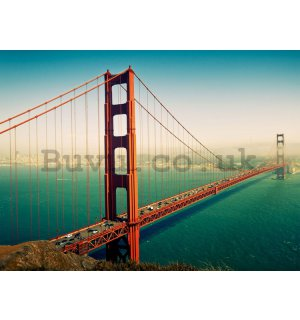 Wall Mural: Golden Gate Bridge (2) - 232x315 cm